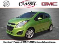 New Price! Clean CARFAX. Lime 2014 Chevrolet Spark LS