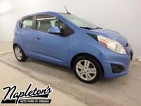 Recent Arrival! 2014 Chevrolet Spark in Blue. Clean
