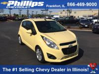 Options:  2014 Chevrolet Spark Ls Auto|Yellow|Best