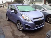 2014 Chevrolet Spark LS In Grape Ice Metallic. Wow!