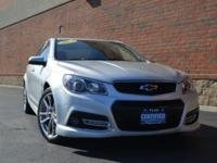 Recent Arrival! Certified. Chevrolet SS Silver Ice