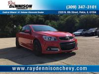 White 2014 Chevrolet SS RWD 6-Speed Automatic with
