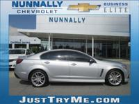 Silver Ice Metallic 2014 Chevrolet SS RWD 6-Speed