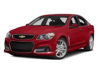 Look at this 2014 Chevrolet SS . Its Automatic