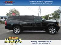 This 2014 Chevrolet Suburban 1500 LS in Black is well
