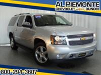 This 2014 ALMOST NEW Chevrolet Suburban LTZ has a great