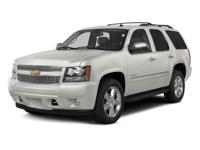2014 Chevrolet Tahoe LT  Clean CARFAX.  Reviews:  *