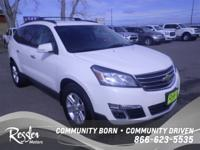 All Wheel Drive!!!AWD*** This White 2014 Chevrolet
