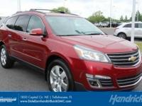 LTZ trim. Sunroof, Heated Leather Seats, 3rd Row Seat,