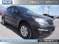 This Traverse is an eight passenger model with power