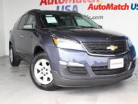 Check out this gently-used 2014 Chevrolet Traverse we