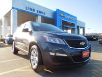 Our magnificent 2014 Chevrolet Traverse LS is the