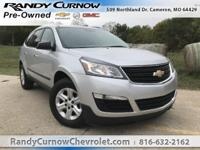 Options:  2014 Chevrolet Traverse Ls|Silver Ice