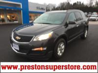 Options:  2014 Chevrolet Traverse Ls|Gray|Affordable