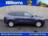 Options:  2014 Chevrolet Traverse Ls|Blue|Touch Screen