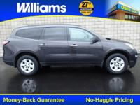 Options:  2014 Chevrolet Traverse Ls|Gray|Touch Screen