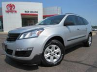 This 2014 Chevrolet Traverse comes equipped with a
