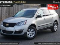 This 2014 Chevrolet Traverse 4dr FWD 4dr LS features a