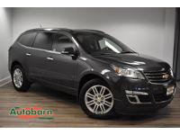 Cyber Gray Metallic 2014 Chevrolet Traverse LT 1LT AWD