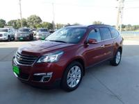 Crystal Red Tint 2014 Chevrolet Traverse LT 1LT AWD