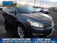 Look at this 2014 Chevrolet Traverse LT. Its Automatic
