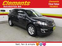 Options:  2014 Chevrolet Traverse Awd 4Dr Lt W/2Lt|Roof