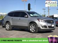 This 2014 Chevrolet Traverse LT will sell fast -Backup
