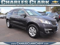 This 2014 Chevrolet Traverse LT is complete with