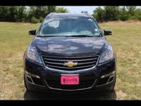 This BLACK 2014 Chevrolet Traverse LT might be just the