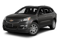 One-Owner Local Trade-in!. Traverse LT 1LT, 6-Speed