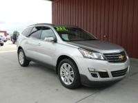 2014 TRAVERSE 1LT FWD, CARFAX 1-OWNER, LOW MILES,