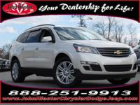 Options:  2014 Chevrolet Traverse Lt|White|Balance Of