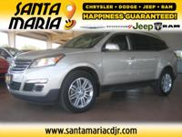 Options:  2014 Chevrolet Traverse Lt W/1Lt Fwd|One