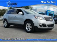 New Price! This 2014 Chevrolet Traverse 2LT in Silver