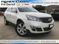 Options:  2014 Chevrolet Traverse Ltz|White Diamond