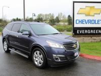 Options:  2014 Chevrolet Traverse Ltz|Blue|One Owner