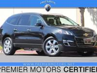 Options:  2014 Chevrolet Traverse Ltz Black 3.6L