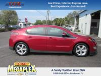 This 2014 Chevrolet Volt in Red is well equipped with: