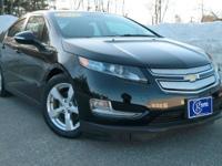 2014 Chevrolet Volt, Black, One Owner, Accident Free