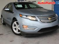 This 2014 Chevrolet Volt w/ leather, backup cam, HTD