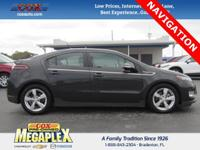 This 2014 Chevrolet Volt in Grey is well equipped with: