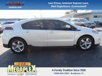 This 2014 Chevrolet Volt in White is well equipped