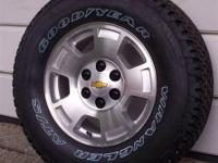 Brand New 2014 Chevy Silverado 1500 Pick-up 6-lug