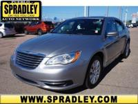 This outstanding example of a 2014 Chrysler 200 LX is