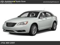 Check out this gently-used 2014 Chrysler 200 we just