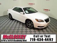 Drop the top in this 2014 Chrysler 200 S Convertible!