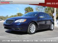 2014 Chrysler 200 Limited V6 Sedan, *** 1 FLORIDA OWNER