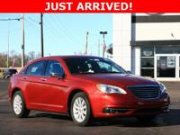 200 Chrysler 2014 6-Speed Automatic FWD 3.6L V6 24V VVT