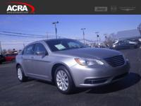 Used Chrysler 200, options include:  Steering Wheel