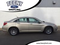New Price! Cashmere Pearlcoat 2014 Chrysler 200 Limited